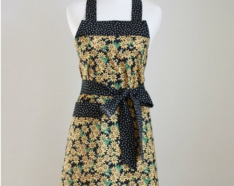 PDF Women's Full Apron with Different Neckband Options - The OPTIONS Apron - Instant Download Sewing Pattern #118