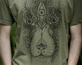 Males Fair Wear and Organic T-Shirt - See Lion V2