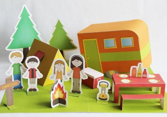 printable camping