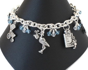 New Mom Mum Mother Charm Bracelet, Gifts for Mom to Be Women Sister Daughter Under 30, New Baby Girl Boy Gifts, Baby Shower Gifts