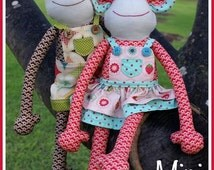 Mini Magoos Monkey Pattern
