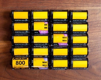20x Empty KODAK 35mm Film Canisters