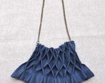 Smokin'  Fabric Necklace - (Ready to Ship)