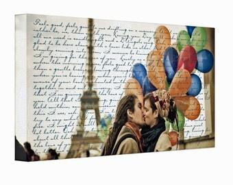 Photo Canvas Print, 10x20, Personalized, Custom, Photo on Canvas, Wall Decor, Wall Art, Anniversary Gift, Wedding, Engagement, Canvas Print
