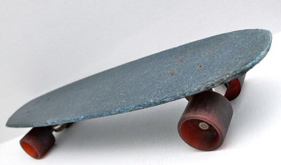 Fiberglass Skateboard Decks Blue 70s Fiberglass Deck