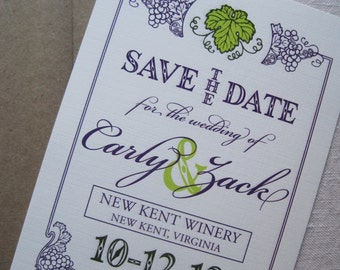 Vineyard Save the Date