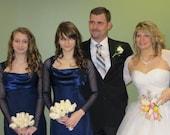 Sheer Shrug Bolero for Bridesmaids, Mother of the Bride, Bat Mitzvah, Prom