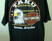 Harley Davidson Hanes BEEFY-T Men's short sleeve t shirt