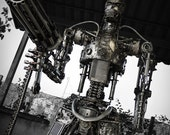 Recycled Metal Killer Machine - Life size (made-to-order)