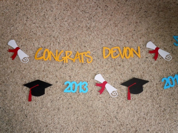 Class of 2016 Custom Graduation Banner - Choose Your Colors