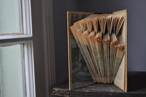 Flock - Reader's Digest Condensed Books - Folded Book Art - Recycled, Repurposed, Reclaimed