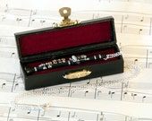 Clarinet Necklace in Case, Music Necklace, Clarinet Jewellery