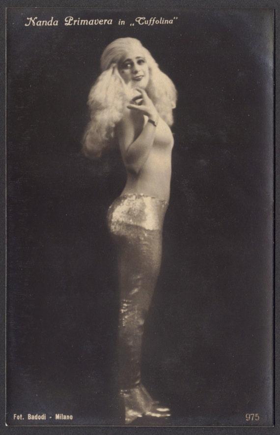 Nanda Primavera, Italian Sciantosa and Film Actress, circa 1920s
