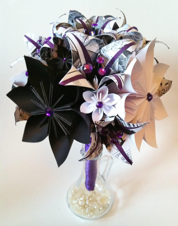 comic book bridal bouquet paper flowers  u0026 by danaspaperflowers