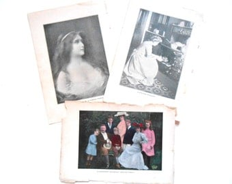 Vintage Book Pictures, 1909, Life Knowledge, Women, Teddy Roosevelt Family