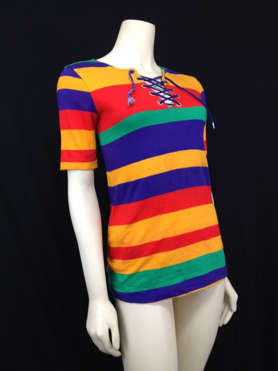 1970s Hang Ten By Charlie S Girls Surf T Shirt Vintage
