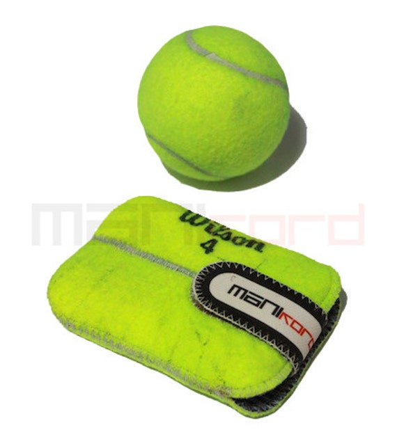 Handmade recycled tennis ball credit by manikordstudio on etsy - Can tennis balls be recycled ...