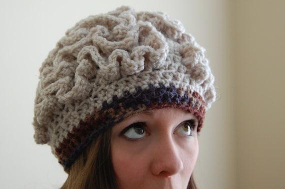 Items similar to Crochet Zombie Brain Hat -Noggin Boggin- in Custom ...