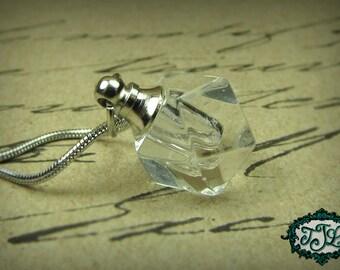 Pretty Dreamy Small Vial Necklace