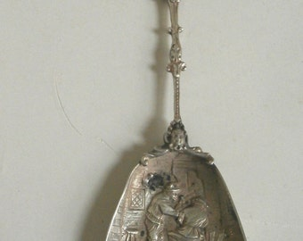 Silver Sugar Spoon Early 1900s