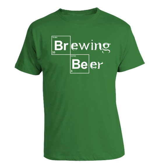 Brewing beer home brewing heisenberg t shirt by brewershirts for Funny craft beer shirts