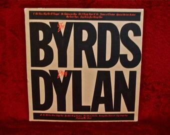 The BYRDS - The Byrds Play Dylan - 1979 Vintage Vinyl Record Album