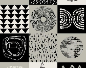 Blockwork Black, open edition A3 giclee print