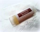 VEGAN Lip Scrub - Kentucky Bourbon - Sugar Scrub - Mango Butter Lip Treatment Tube