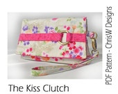 Clutch Wristlet Sewing Pattern by ChrisW Designs - KISS