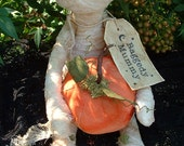 Primitive Raggedy Halloween Mummy Doll