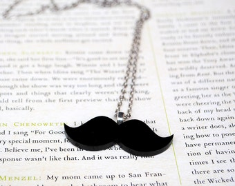 Moustache Necklace | Kitsch | Geeky | Movember Jewellery