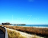 The Pier in Myrtle Beach South Carolina Fine Art Photograph