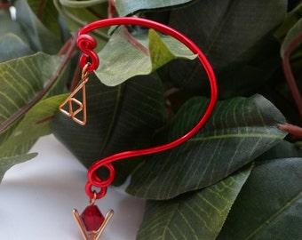 The L.O.Z.® Goron's Ruby Ear Bend