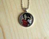 Amy Winehouse POP Art Necklace