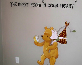 Estimate for Classic Winnie the Pooh Nursery Mural- Please read description