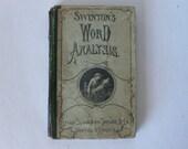 1875 book, Swinton's Word Analysis from Diz Has Neat Stuff