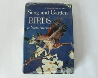 vintage book, Song and garden Birds of North America, 1964, from Diz Has Neat Stuff