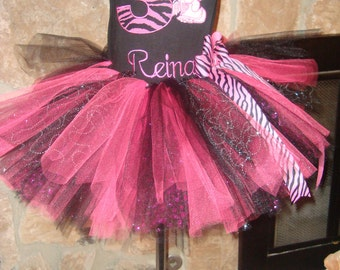 Kitty  Birthday Tutu set