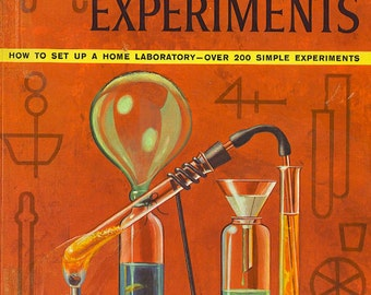 The Golden Book of CHEMISTRY EXPERIMENTS RARE Famous Banned Book Deemed Too Dangerous And Pulled From Libraries