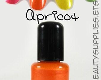 Apricot Nail Polish 8 ml Vegan Non-Toxic
