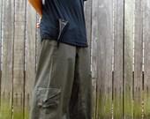 Cargo Hybrid Pants - Green ***Sun Fading Sale***