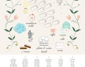 24 by 36-Wedding Seating Chart