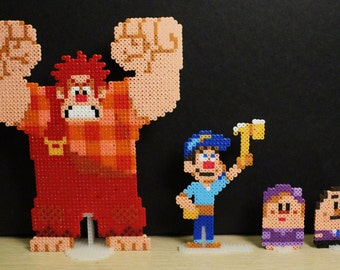 Hama Wreck-it Ralph Standing Sprite Set