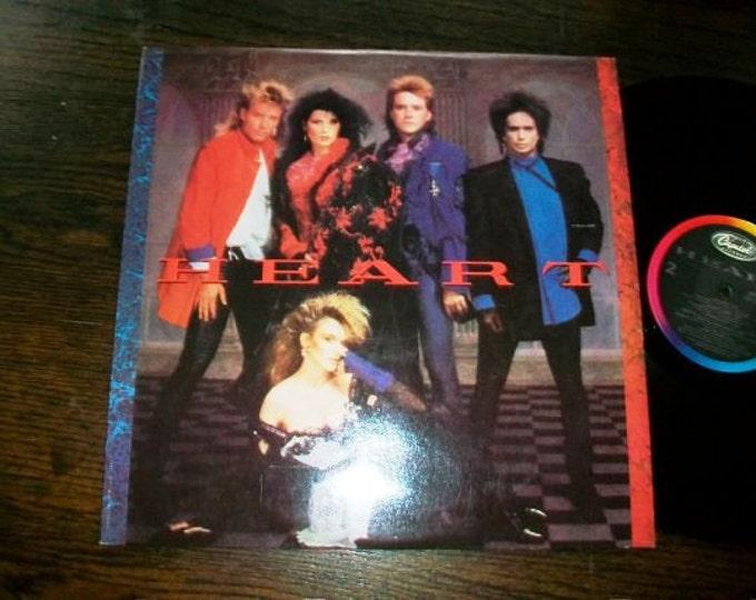 Heart Record Album 1984 Vintage Vinyl