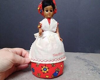 Vintage New Orleans Souvenir Doll