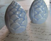 Sale Vintage Pinecone Salt and Pepper Shakers