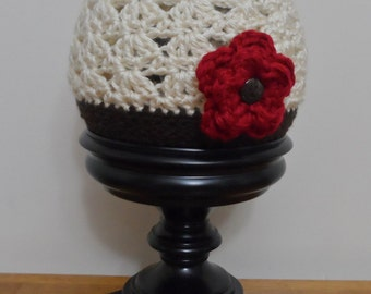 Flower Hat - The Charlotte Cloche - Crochet Pattern 50 - us and uk terms - Newborn to Adult - Crochet Hat PATTERN - INSTANT DOWNLOAD