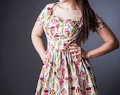 Cassie Ice Cream Dress Rockabilly Pinup