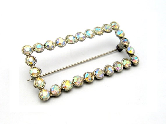 Picture Frame Style Brooch Pin