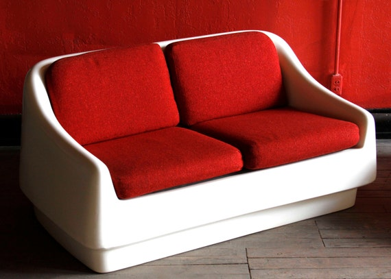 Items Similar To Thonet Saturna Mod Space Age Couch On Etsy